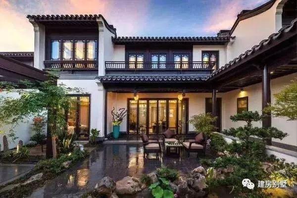 中式别墅配中式院子,16款庭院带来清雅幽静的生活