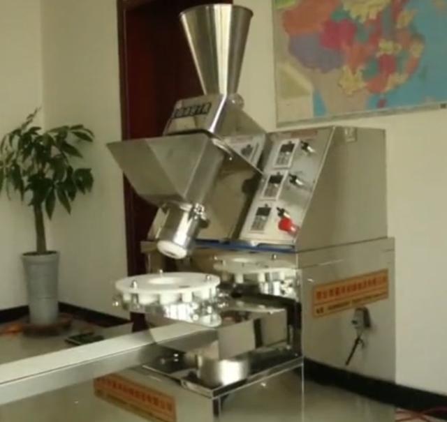 安徽大叔发明包子机1小时可以做2400个包子