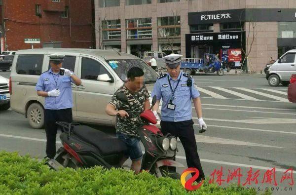 4月至今_千亿国际娱乐场已查处摩托车各类交通违法行为逾万起