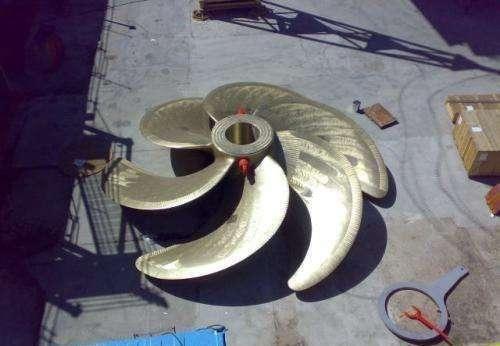 厉害了,中国制造出了160吨重的螺旋桨