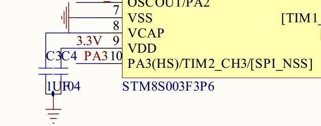 本文小编向大家介绍stm8单片机的供电模块。 STM8 的MCU有四个供电单元: 1. VDD/VSS:主电源(3V~5.5V); 2. VDDIO/VSSIO: I/O口供电电源(3V~5.5V); 3. VDDA/VSSA:模拟部分供电电源(3V~5.5V); 4. Vref+/Vref-: ADC参考电源(3V~5.5V).