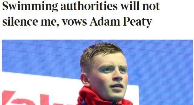 """国际泳联禁令遭""""抵制""""!成澳英嘲讽对象,身为国际协会毫无尊严"""