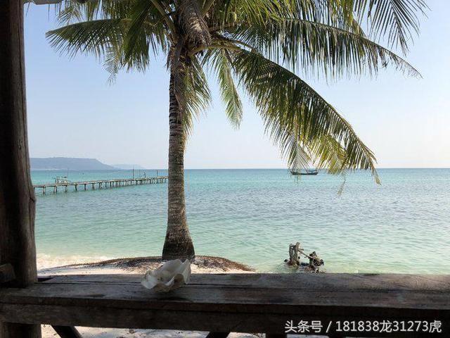 浅游柬埔寨东方明珠,西哈努克,高龙岛
