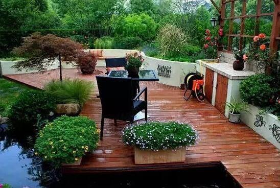 别墅庭院的水景设计有什么方法?