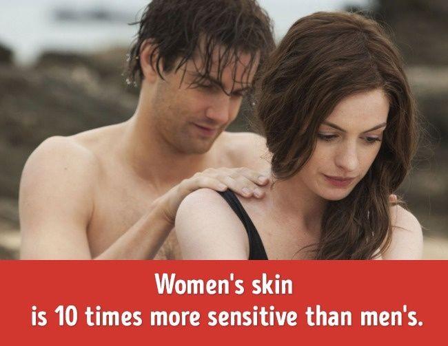 女性比男性优秀的女性身体机密,连女生自己都
