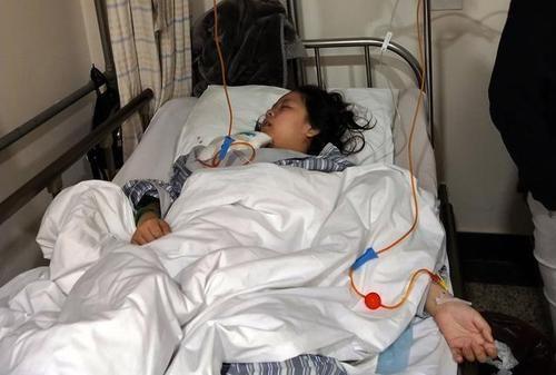 11岁女孩4次化疗头发掉光,盼病好留篮球唱歌单动漫打女生长发图片