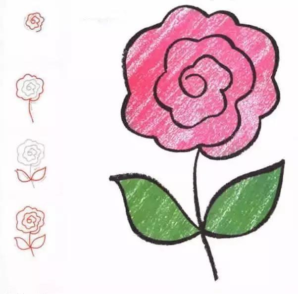 花瓣简笔画素材