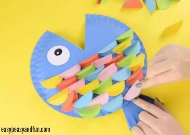 创意手工:几十种惊喜纸盘手工,承包幼儿园整个学期美工课堂!