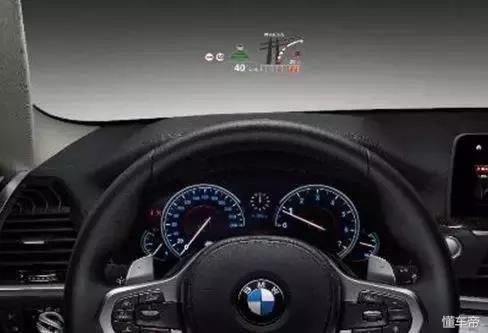 国产宝马x3全液晶仪表盘及全彩平视显示系统