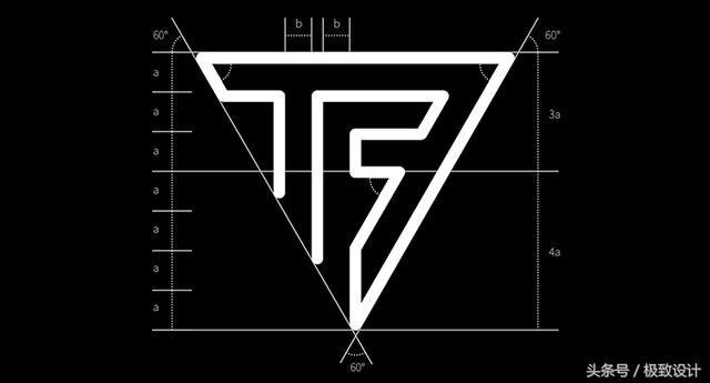 TFBOYS的logo设计设计,曾获字体A