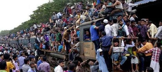 全球最拥挤的国家,就像马蜂窝似的,人口密度是中国的9倍多
