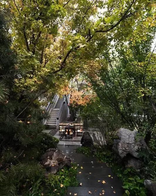 300款最美中式庭院,景墙,花窗,铺装,这里应有尽有!图片
