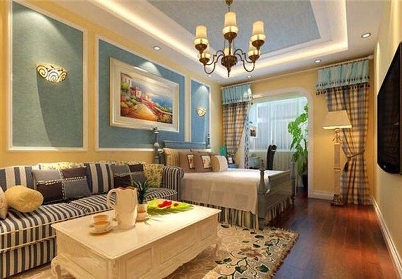 3万块钱装修的54平米的房子,地中海风格简直太美了!-御水圆装修