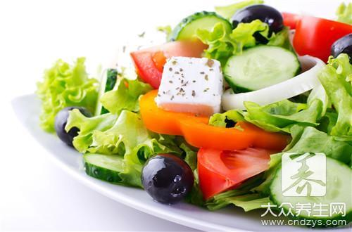 西餐沙拉菜谱有哪些?