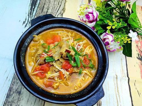 【菜谱亚麻】晚餐籽茄汁面条的肥牛,亚麻籽茄生做法图片