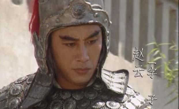 第二十八回,赵云与关羽、刘备再次相遇,赵云就开始跟随刘备了.图片