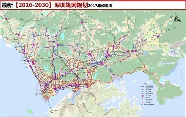 """深圳最新地铁规划,究竟""""利好""""了谁?"""