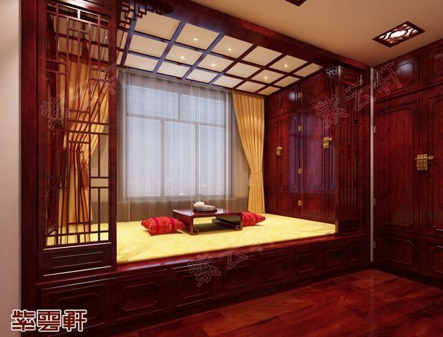 中式古典风格别墅装修图,淡泊明志,宁静致远