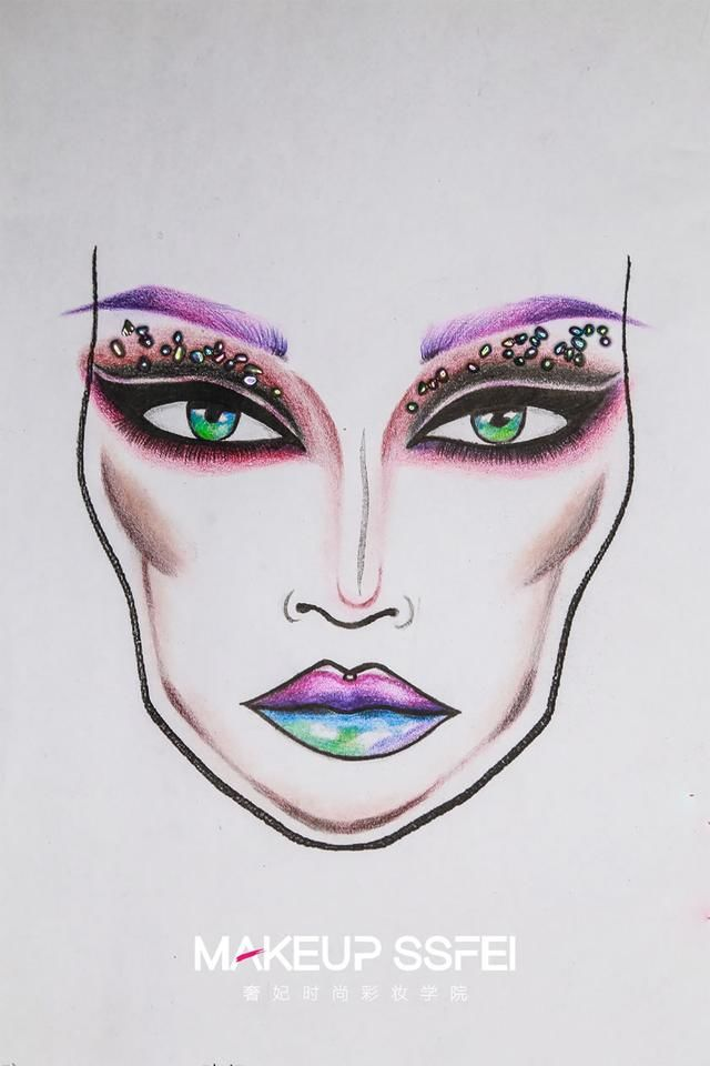 成都奢分类作品学员图(美人学校)建筑设计化妆文件夹工作图片