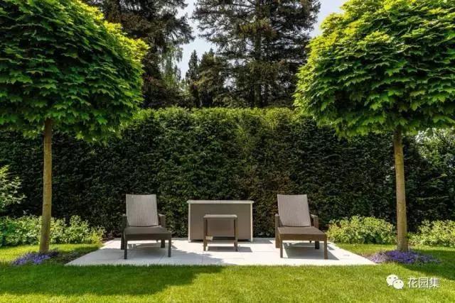 人们向往自由,把自然界的风景迎入庭院,追求简单,田园和放松.