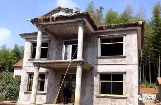 自建框架结构房子图片