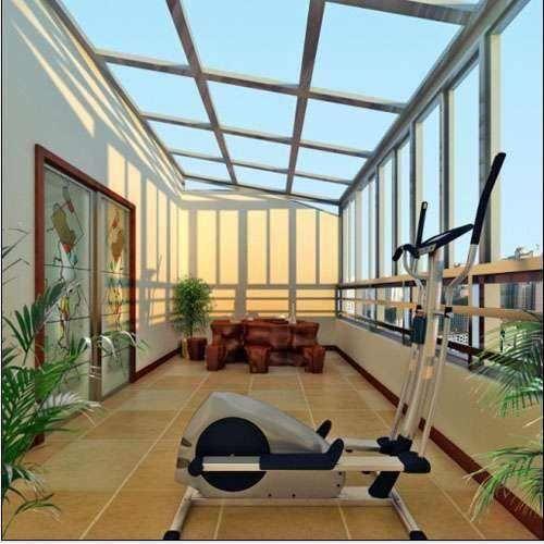 阳光房外形好看,室内也要设计的别致,这几款效果图有你喜欢的吗图片