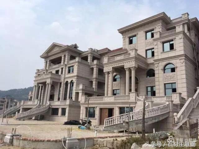 福清豪宅就是多,而且钟爱花岗岩外墙,大理石内装