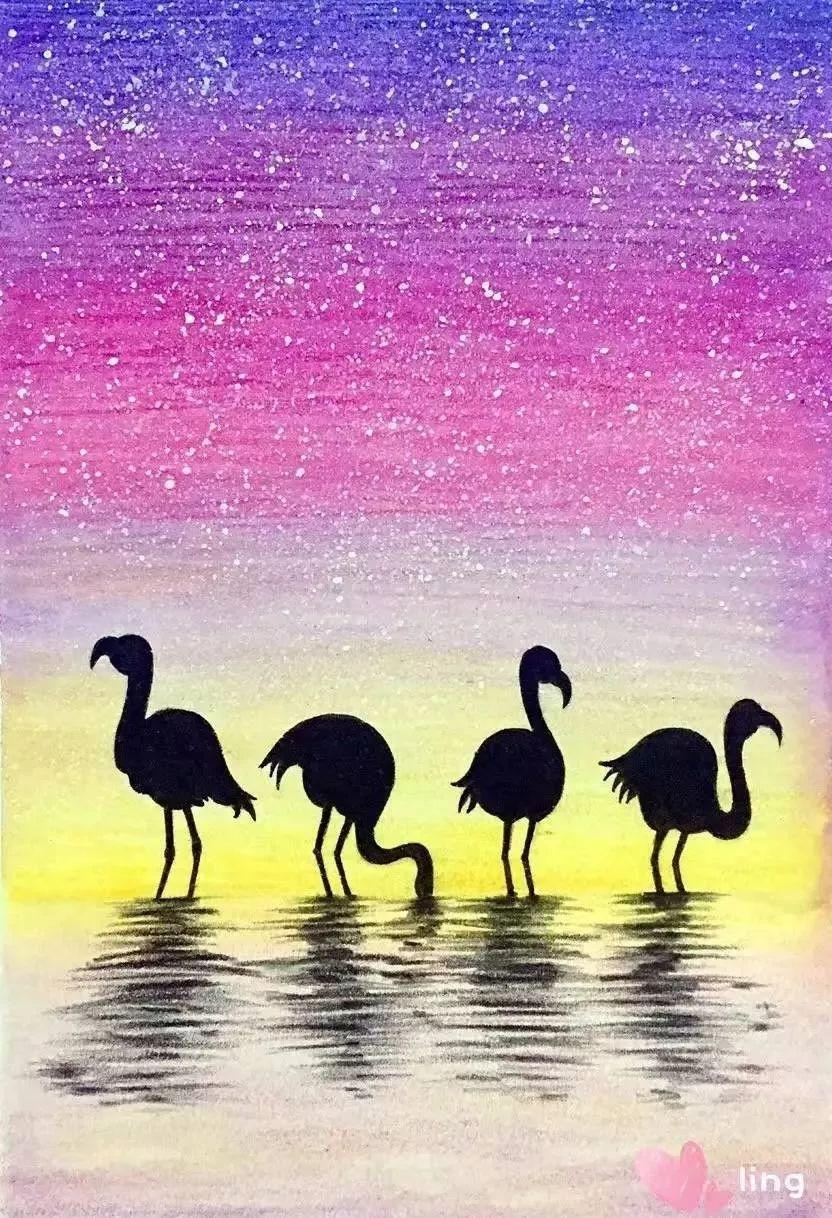 画步骤教程-教大家用彩铅画海豚(7) 817x575 - 25kb - jpeg 星空的那