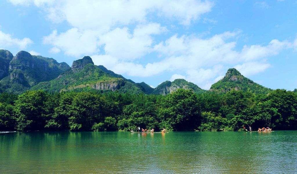 风景图集:温州楠溪江风景