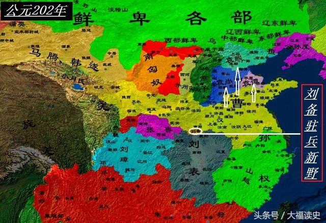 三国详细地图全图高清版_三国势力变化地图展示_地图分享