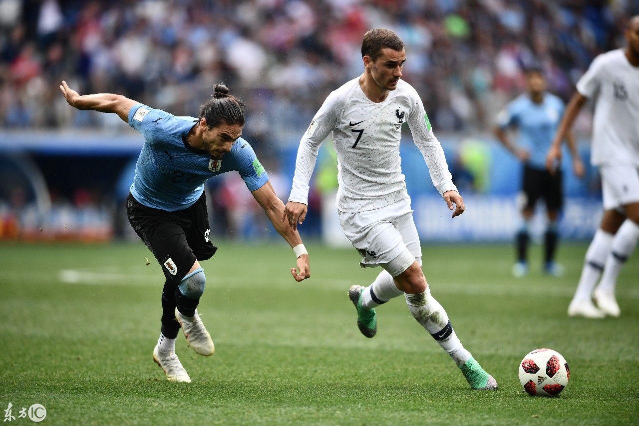 独家组图:2018世界杯1/4决赛,乌拉圭与法国精彩对决