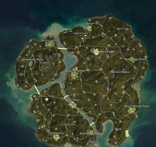 绝地求生海岛地图最新测试内容发布,快去体验服感受一