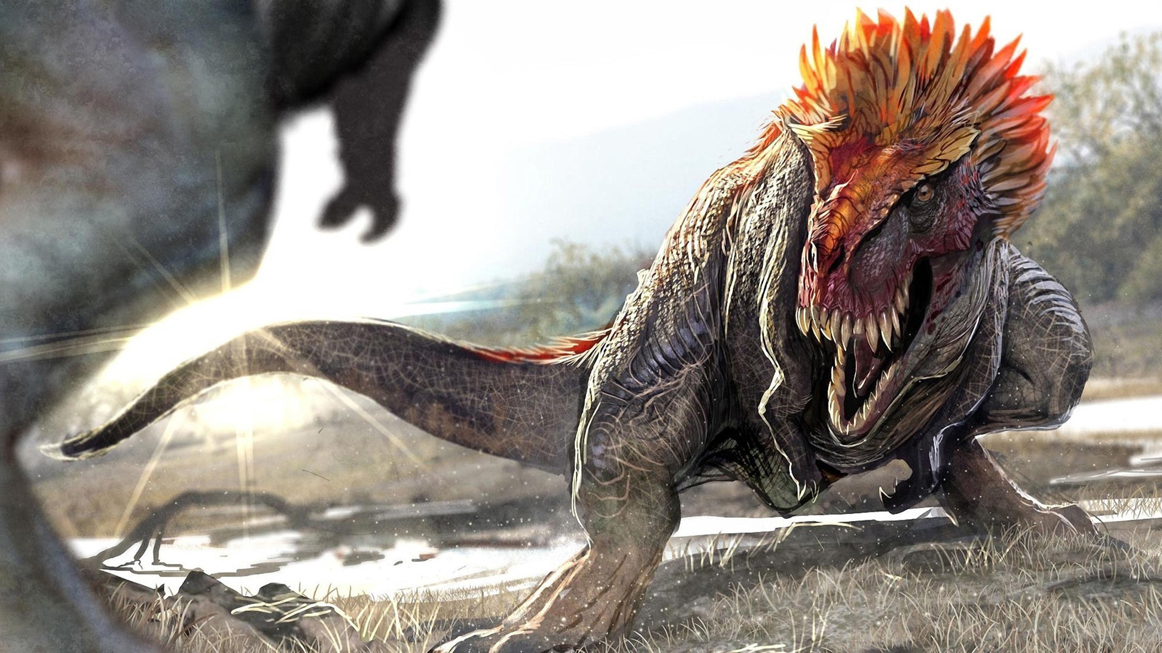 古代动物恐龙高清壁纸
