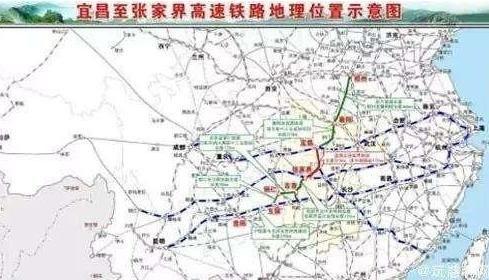 张家界到宜昌有高铁规划吗
