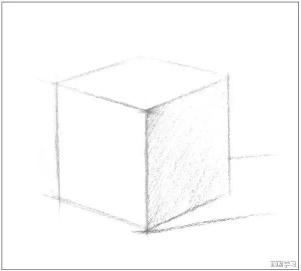 零基础如何学素描,素描正方体长方体的绘画教程!