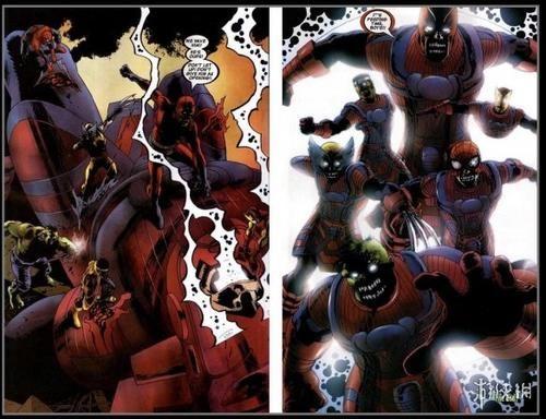 美队死侍金刚狼变丧尸!漫威漫画丧尸宇宙或父与同行漫画图片