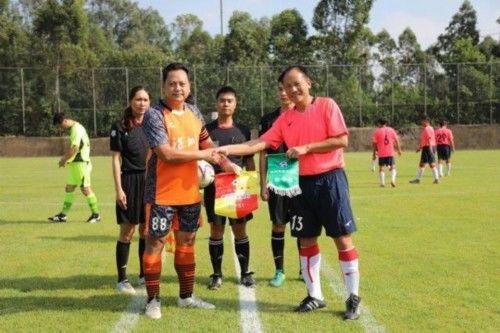 2017年广东省足球协会元老足球赛开波