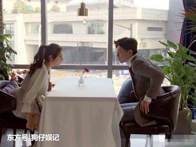 网友偶遇迪丽热巴邓伦拍摄新戏,胖迪一脸无措