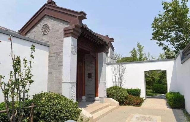 资讯 滚动 正文  中式门头32 大门入口中式设计,让家多了一种文化,一
