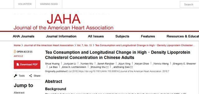 科学家分析8万中国人数据:长期喝茶有什么用?