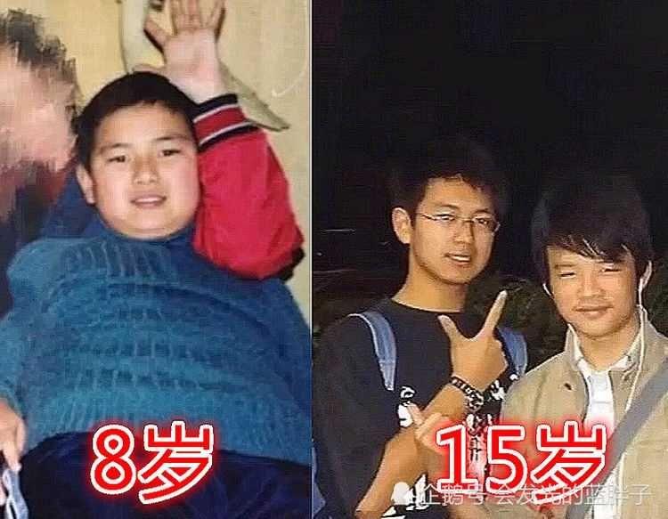 8岁的李现可爱,18岁的李现青涩,28岁的李现
