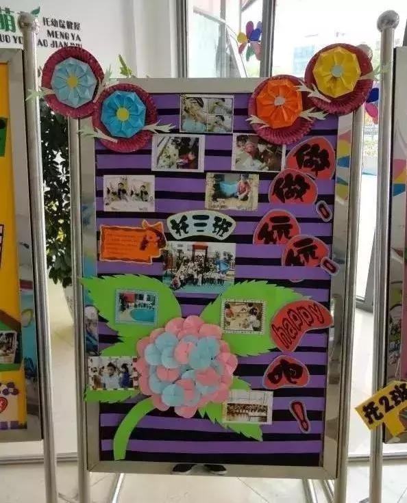 幼儿园创意小展板作品:眼前一亮尽显班级特色,供幼师们参考