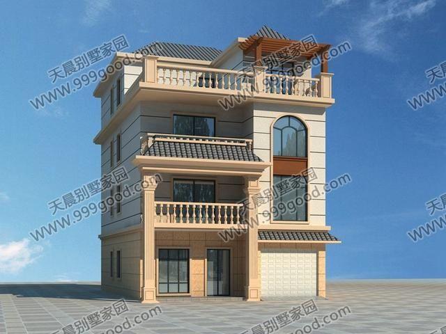 实拍面宽仅8.5米的别墅建造过程,小别墅照样秒杀豪宅!