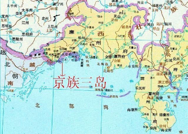 旅游 正文  京族三岛是中国大陆与越南交界处的巫头,万尾,山心三个