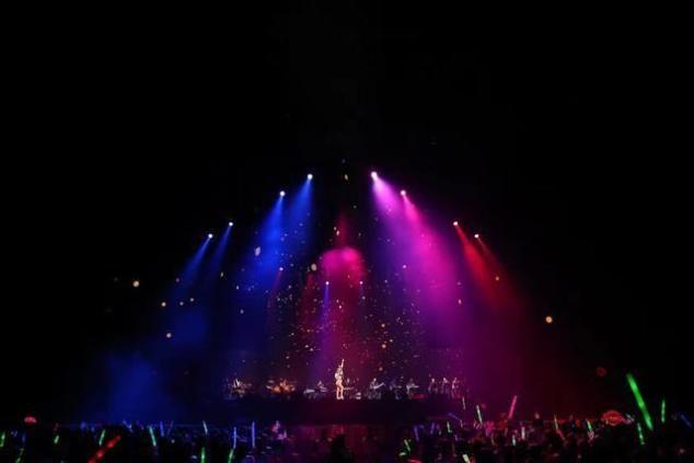 """<b>CoCo 李玟YOUI世界巡演佛山开唱 歌迷热情表白""""无悔今生""""</b>"""
