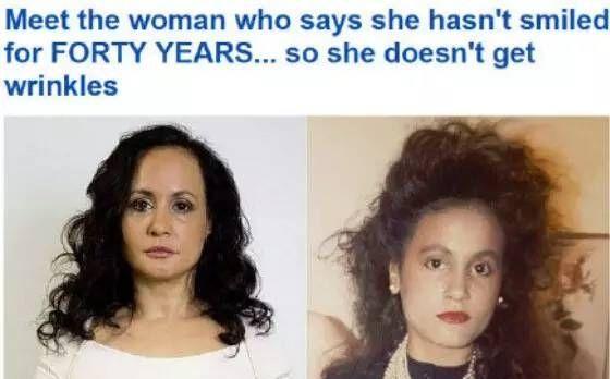 女子为保持容颜40年不笑,最后却是这样