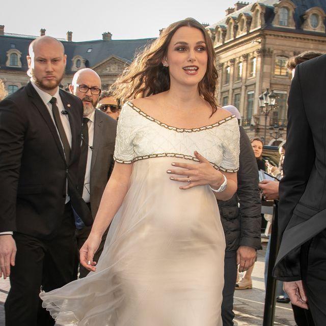 凯拉奈特莉又怀孕了!她们不穿孕妇装竟比梅根好看