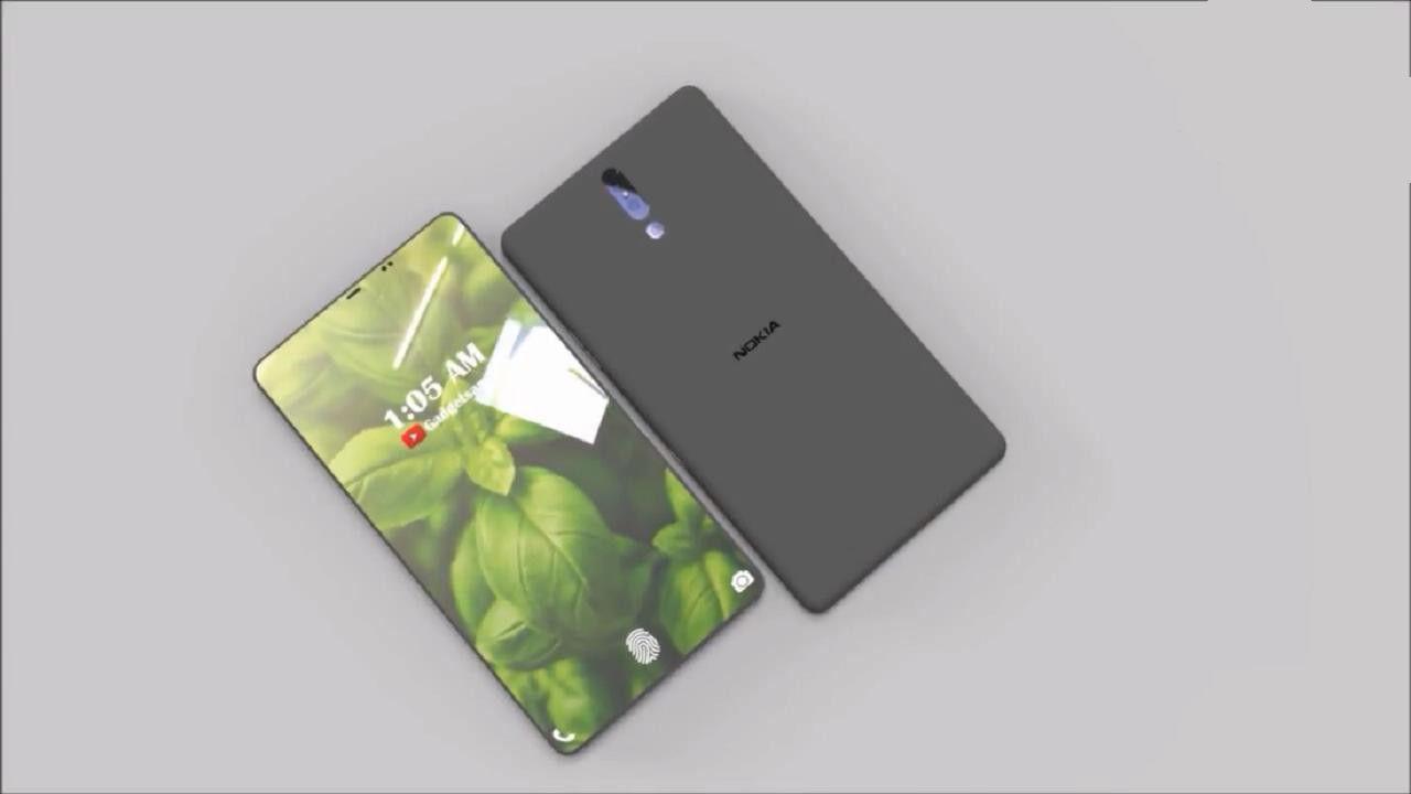 诺基亚X9概念图让人追捧:100%屏占比 屏下指