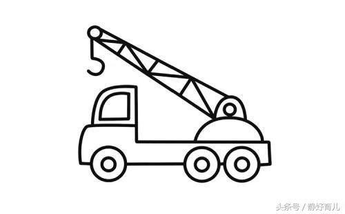 小汽车简笔画幼儿园