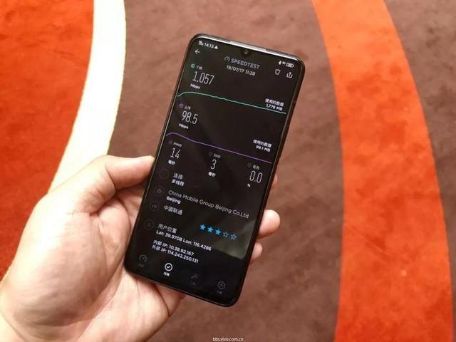 iQOO 5G版真机曝遭光,vivo首次展现什么才叫中国5G速度